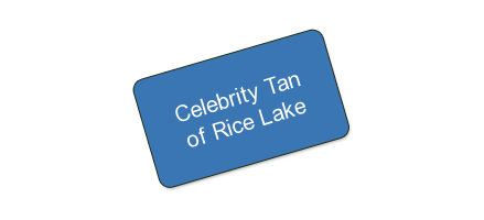 Celebrity Tan of Rice Lake REDUCED MORE THAN HALF OFF ONE MONTH OF UNLIMITED TANNING
