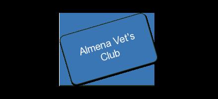 Almena Vets Club HALF OFF FOOD AND DRINKS